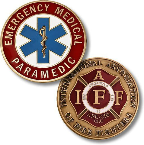 Emergency Medical Paramedic Coin