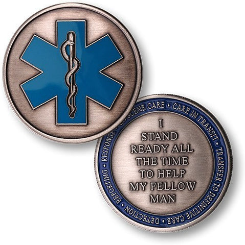 Emergency Medical Services Honorary Coin