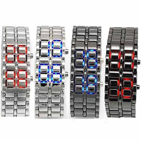 Metal LED Faceless Watch - topnotchloot  - 2