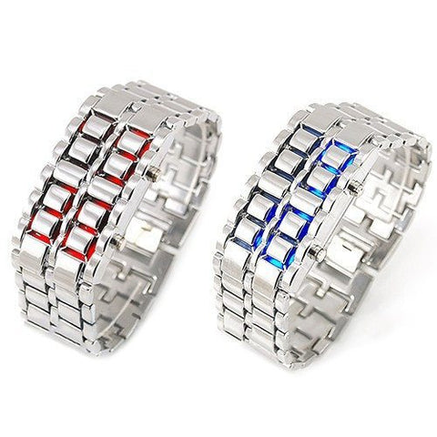 Metal LED Faceless Watch - topnotchloot  - 3