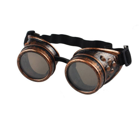 Steampunk Cosplay Goggles - topnotchloot  - 5