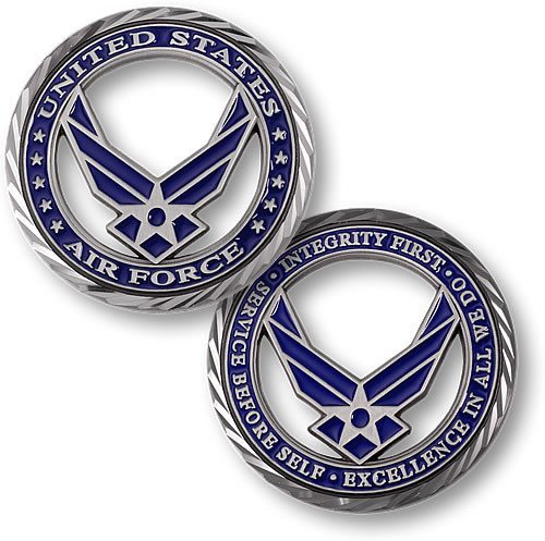 US Air Force Core Values Coin - topnotchloot