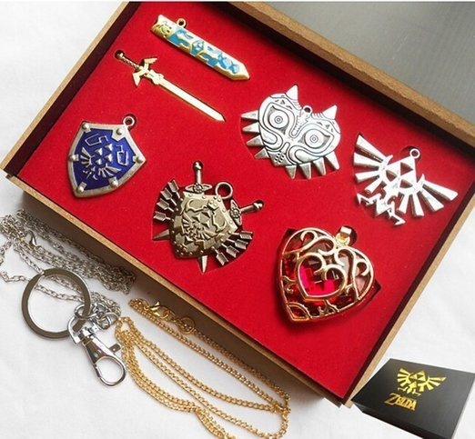 Zelda Necklace Shield Collection - topnotchloot
