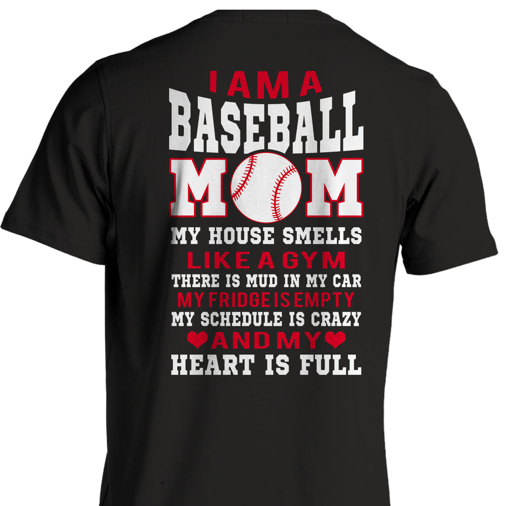 I am a Baseball Mom - T-Shirt - topnotchloot