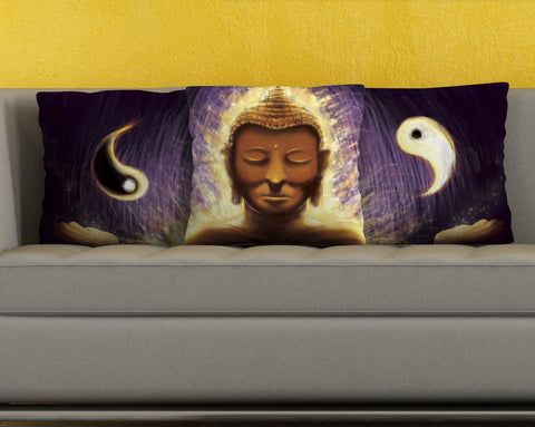 Mystical Buddha Pillow Covers - topnotchloot  - 4