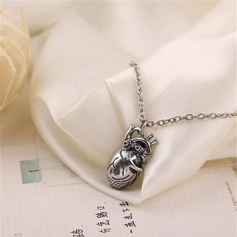 Anatomical Human Heart Necklace - topnotchloot  - 3