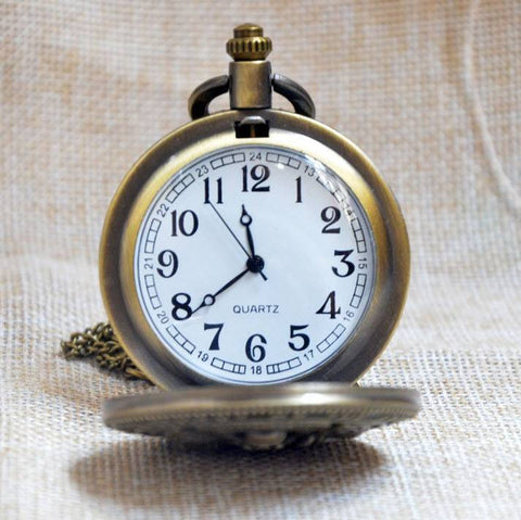 Bronze Army Pocket Watch - topnotchloot  - 2