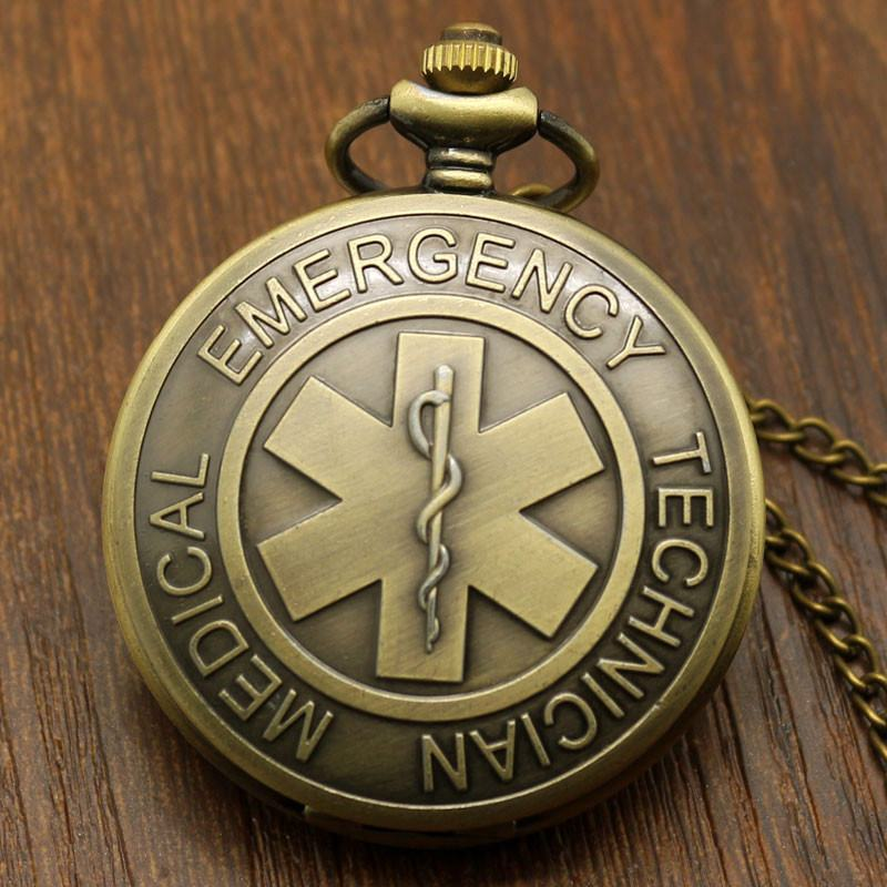 Bronze EMT Pocket Watch - topnotchloot  - 1