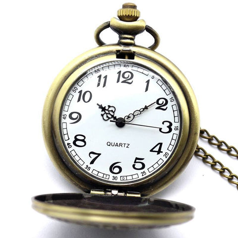 Bronze EMT Pocket Watch - topnotchloot  - 2