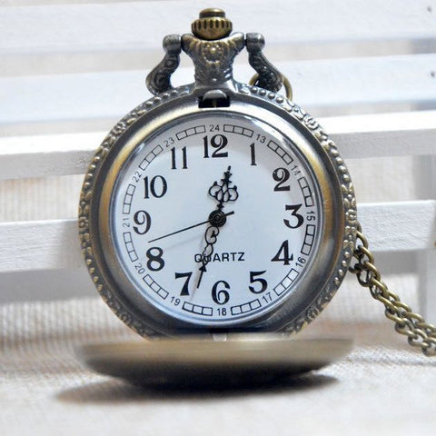 Bronze Fishing Pocket Watch - topnotchloot  - 2