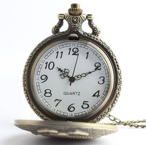 Bronze Police Officer Pocket Watch - topnotchloot  - 3