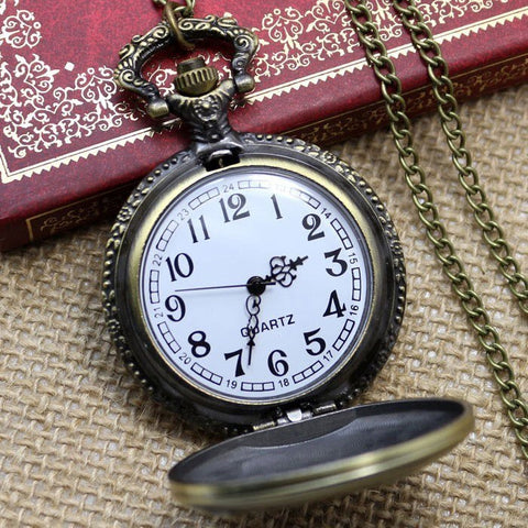 Bronze Trucking Pocket Watch - topnotchloot  - 2
