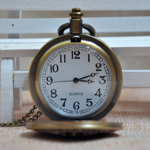 Bronze United States Air Force Pocket Watch - topnotchloot  - 3