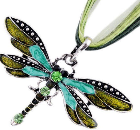 Dragonfly Pendant Necklace - topnotchloot  - 1