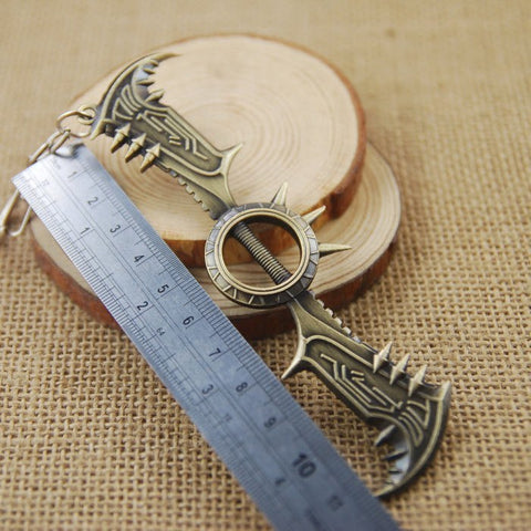 Draven Metal Axe Key Chain - topnotchloot  - 2