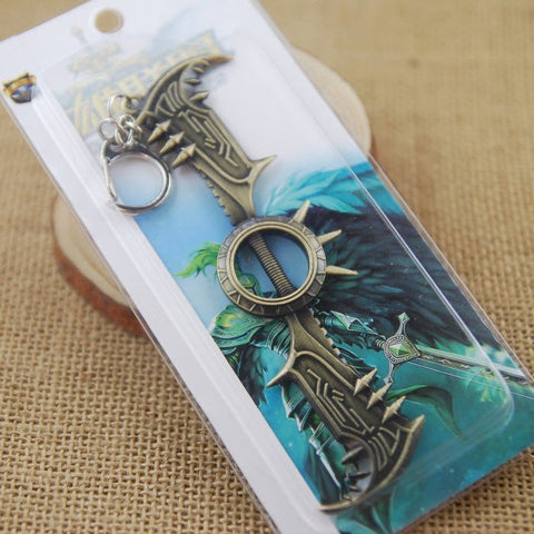 Draven Metal Axe Key Chain - topnotchloot  - 4