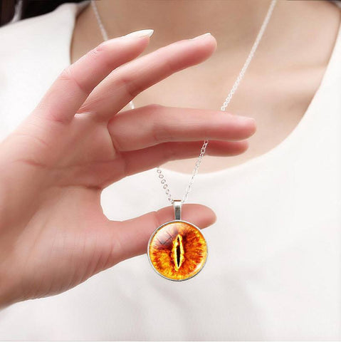 Eye of Sauron Necklace - topnotchloot  - 2
