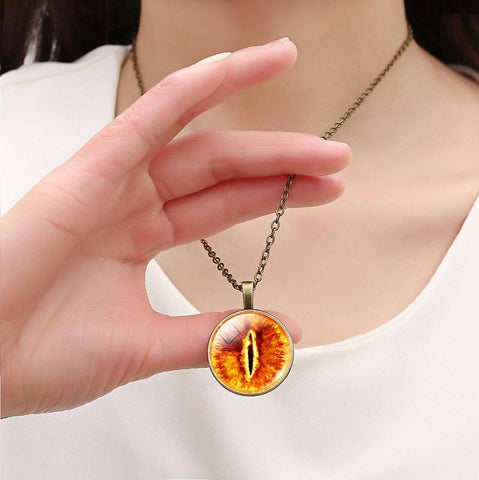 Eye of Sauron Necklace - topnotchloot  - 3