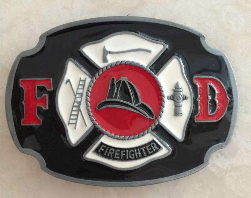 Fire Fighter Belt Buckle - topnotchloot