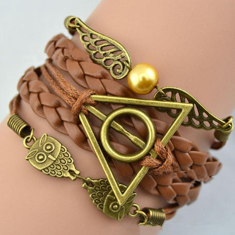 Harry Potter Deathly Hallows Bracelet - topnotchloot  - 1