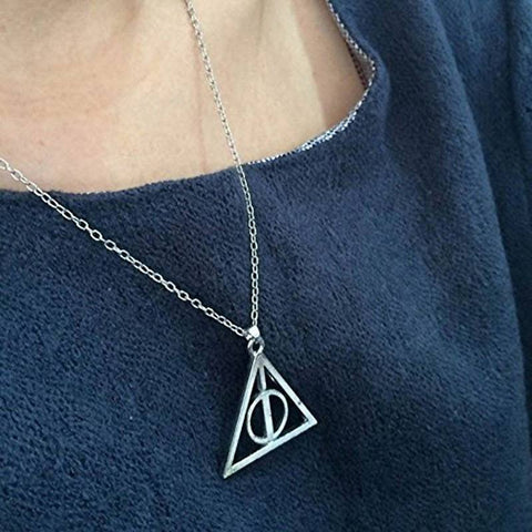 Harry Potter Deathly Hallows Necklace - topnotchloot  - 2