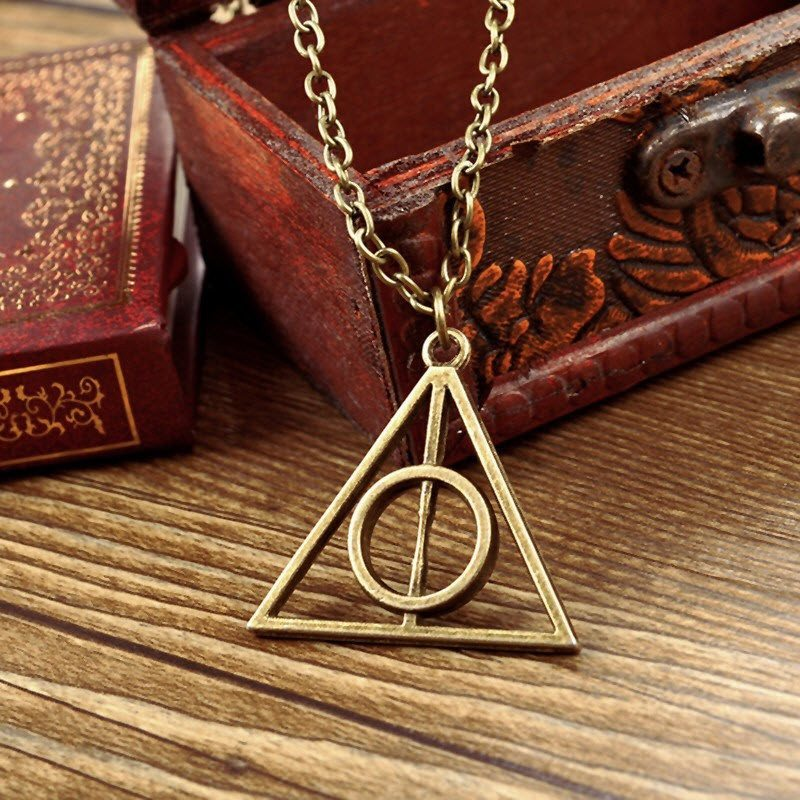 Harry Potter Deathly Hallows Necklace - topnotchloot  - 3