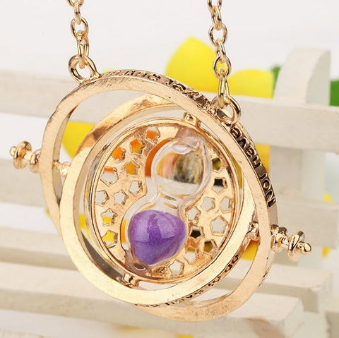 Harry Potter Hermione Time Turner Necklace - topnotchloot  - 4