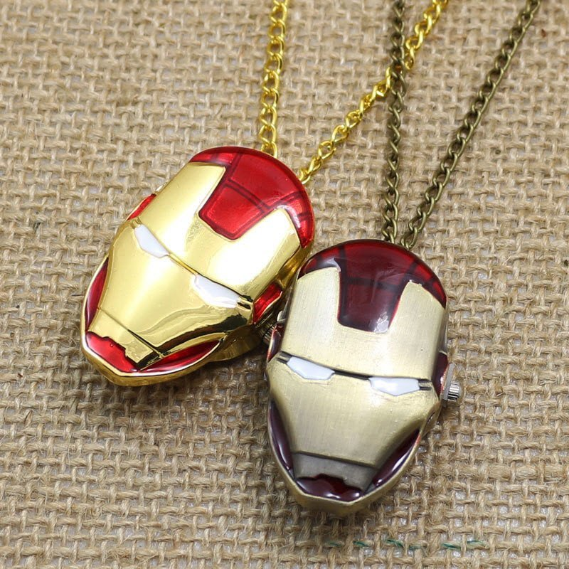 Iron Man Pocket Watch - topnotchloot  - 1