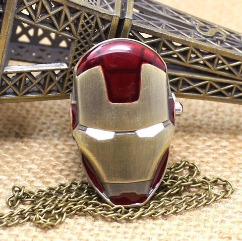 Iron Man Pocket Watch - topnotchloot  - 2