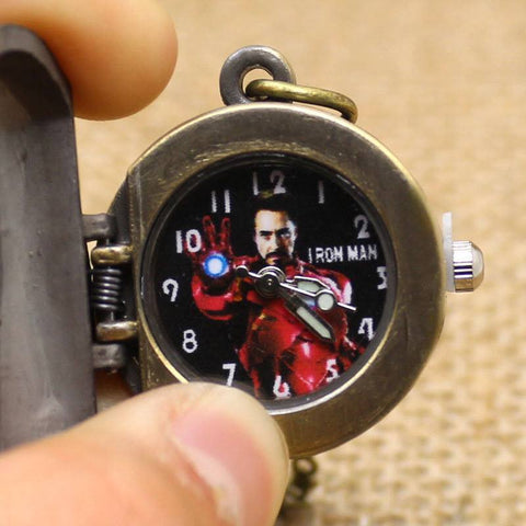 Iron Man Pocket Watch - topnotchloot  - 3