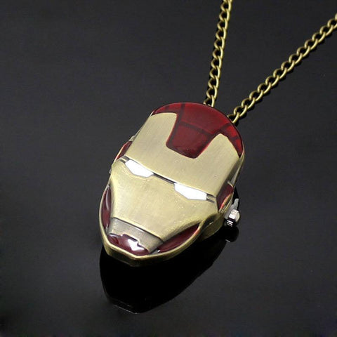 Iron Man Pocket Watch - topnotchloot  - 4