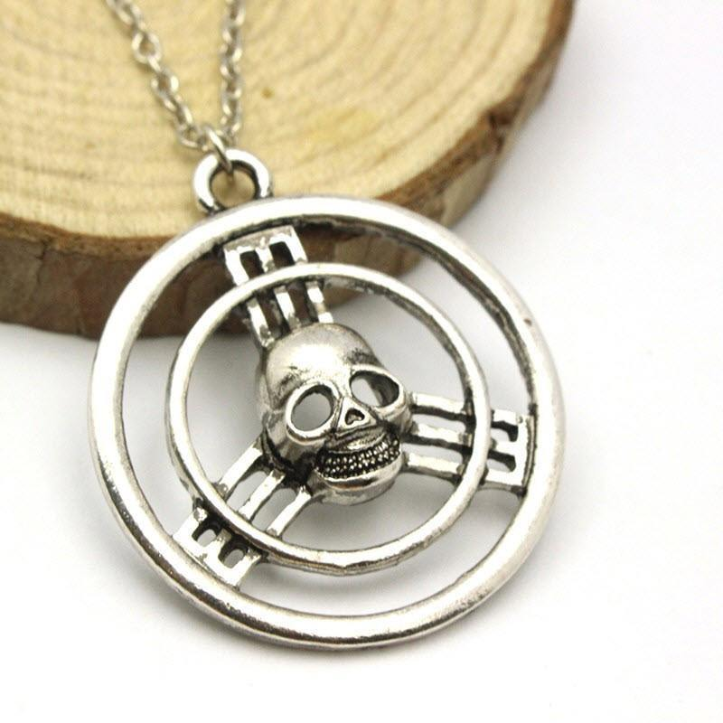 Mad Max Fury Road Skull Steering Wheel Necklace - topnotchloot  - 1