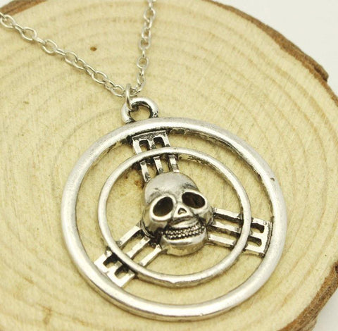 Mad Max Fury Road Skull Steering Wheel Necklace - topnotchloot  - 2