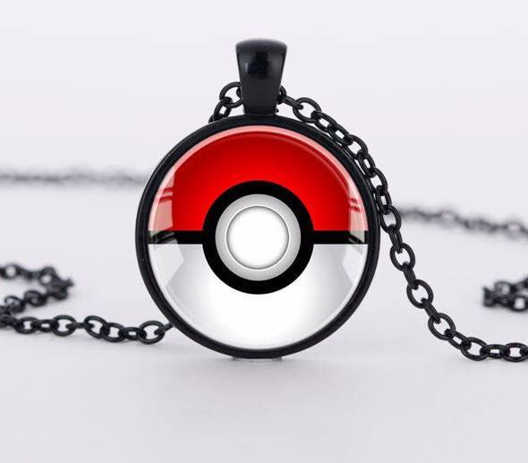 Pokemon Pokeball Necklace - topnotchloot  - 1