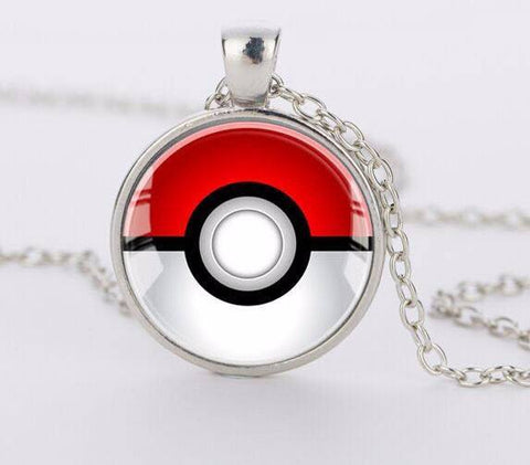 Pokemon Pokeball Necklace - topnotchloot  - 2