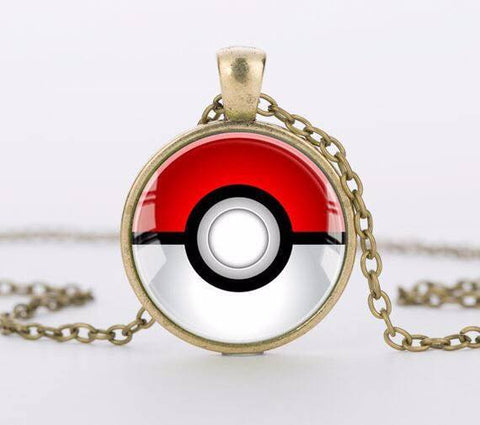 Pokemon Pokeball Necklace - topnotchloot  - 3