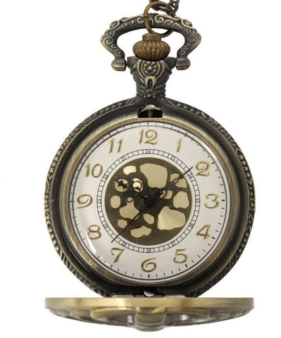 Steampunk Bronze Pocket Watch - topnotchloot  - 2