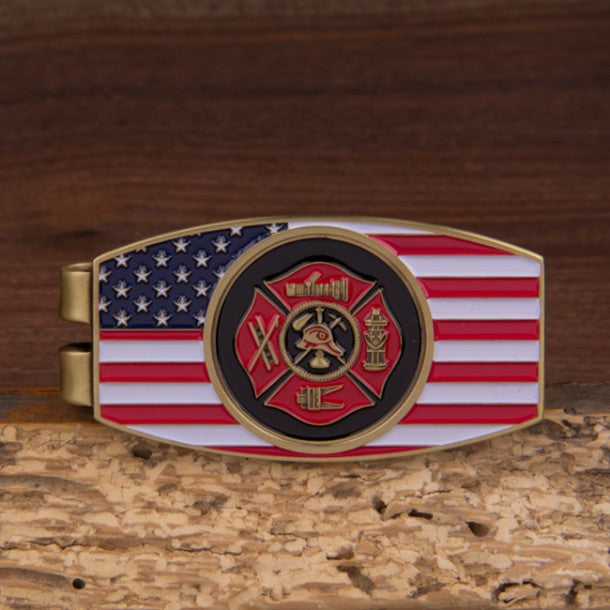 Fire Fighter Money Clip - topnotchloot