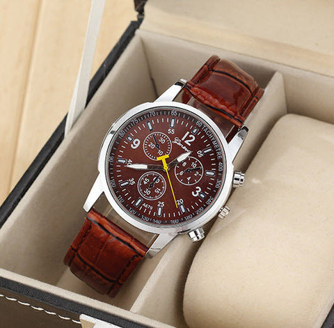 Men's Geneva Casual Business Watch