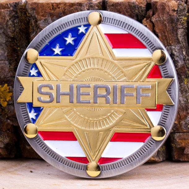 Sheriff Challenge Coin - topnotchloot  - 1