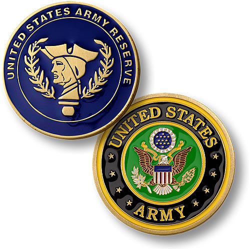 Army Reserve Challenge Coin - topnotchloot