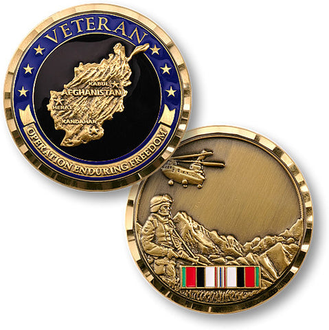 Operation Enduring Freedom Challenge Coin