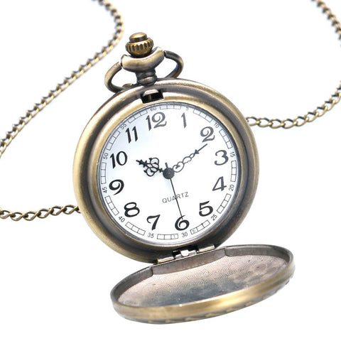 Bronze Mustang Pocket Watch - topnotchloot  - 3