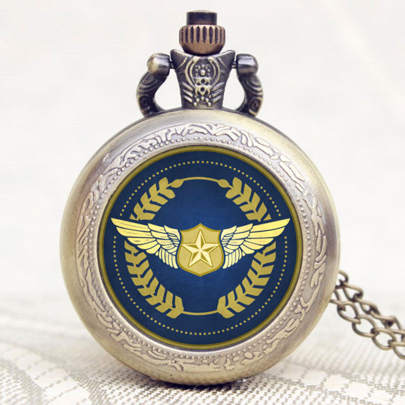 Bronze Pilot Pocket Watch - topnotchloot