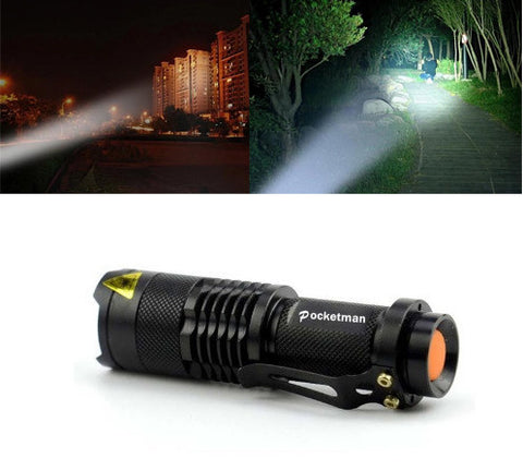 Ultra Bright Mini LED Flashlight