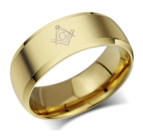 Masonic Rings Black Gold Silver - topnotchloot  - 3