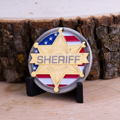 Sheriff Challenge Coin - topnotchloot  - 3