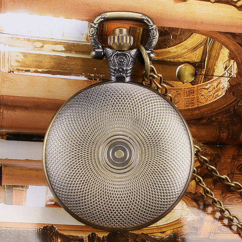 Bronze Pilot Pocket Watch - topnotchloot  - 3