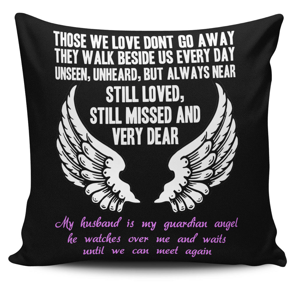 Guardian Angel Husband Pillow Cover - topnotchloot