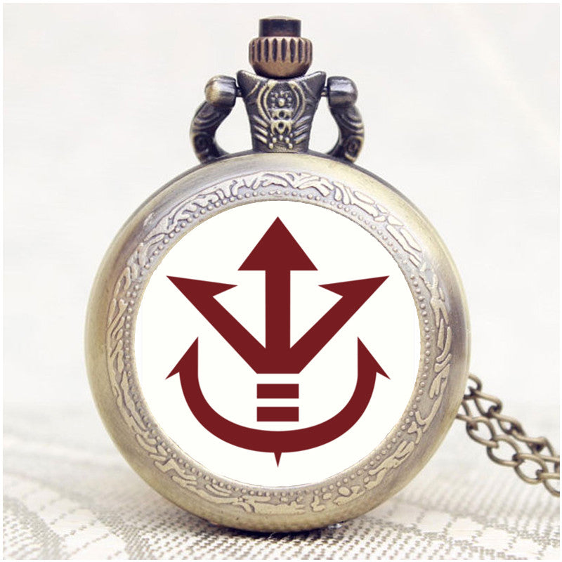 Saiyan Royal Family Pocket Watch Topnotchloot